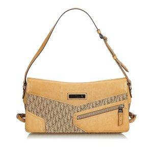 Dior Oblique Canvas Shoulder Bag