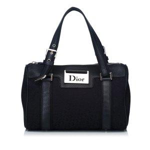 Dior Oblique Jacquard Boston Bag