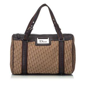 Dior Oblique Jacquard Handbag