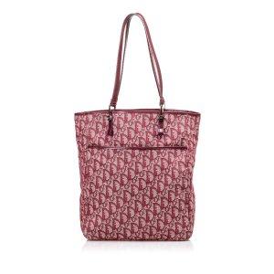 Dior Oblique Jacquard Tote Bag