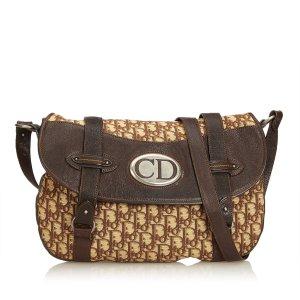Dior Oblique Jacquard Traveler Crossbody Bag