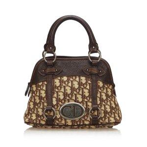 Dior Oblique Jacquard Traveler Handbag