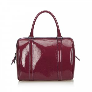 Dior Oblique Leather Boston