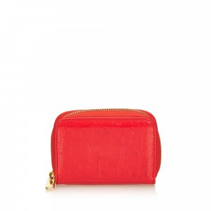 Dior Oblique Patent Leather Coin Pouch