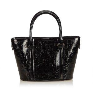 Dior Oblique Patent Leather Handbag
