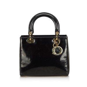 Dior Oblique Patent Leather Lady Dior