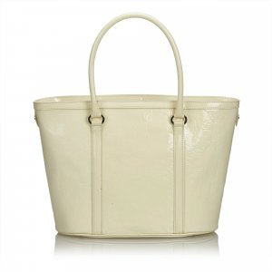Dior Oblique Patent Leather Tote