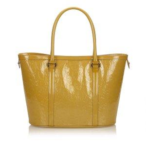 Dior Sac fourre-tout marron clair faux cuir