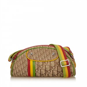 Dior Oblique Rasta Shoulder Bag