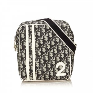 Dior Oblique Trotter Shoulder Bag