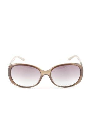 Dior ovale Sonnenbrille braun Casual-Look