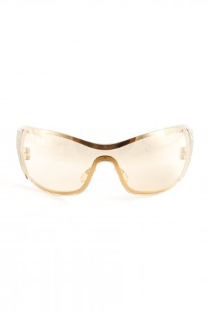 "Dior Oval Sunglasses ""Quadrille"" bronze-colored"