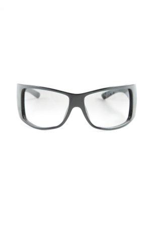 Dior Gafas de sol ovaladas negro-color plata look casual