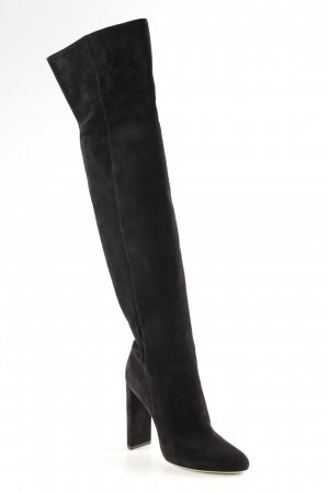 "Dior Stivale cuissard ""Pleats Thigh Boots "" nero"