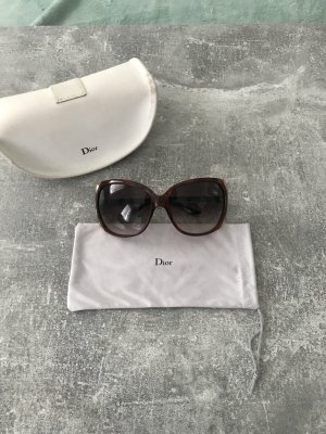 Dior Sunglasses brown-brown red