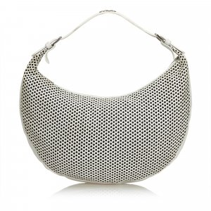 Dior Perforated Leather Hobo Bag