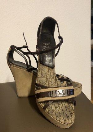 Dior Plateauzool sandalen veelkleurig