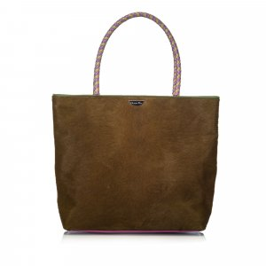 Dior Pony Hair Masai Tote Bag