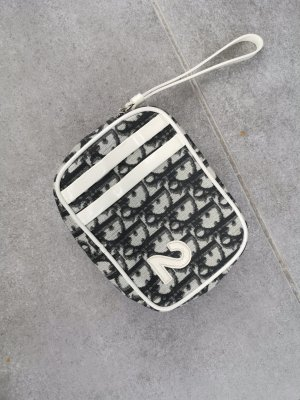 Christian Dior Minibolso blanco-negro