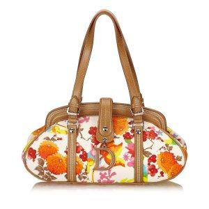 Dior Printed Cotton Handbag