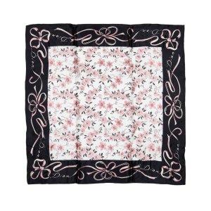 Dior Printed Floral Scarf