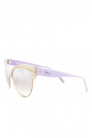 Dior runde Sonnenbrille mehrfarbig extravaganter Stil