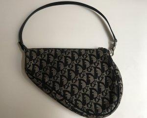 Dior Bolso tipo pochette gris-azul oscuro