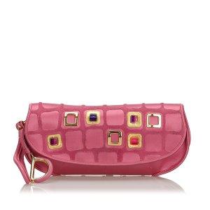 Dior Satin 61 Clutch Bag