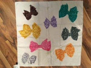 Christian Dior Bufanda de seda multicolor Seda