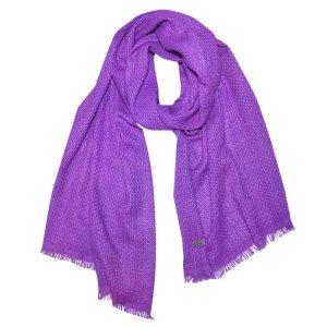 Dior Écharpe violet cachemire