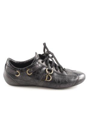 Dior Schnürsneaker schwarz sportlicher Stil