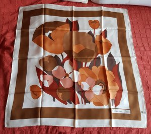 Christian Dior Silk Cloth multicolored