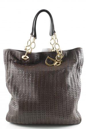 Dior Shopper dunkelbraun Webmuster Casual-Look