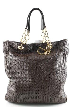 Dior Shopper dunkelbraun Webmuster Casual-Look