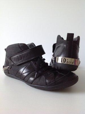 DIOR Sneaker Gr. DE 38,5 SCHWARZ Damen