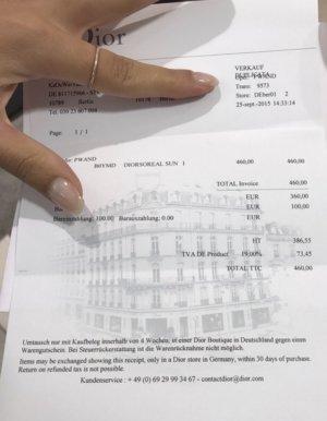 Dior So Real Klassiker mit OG Rechnung