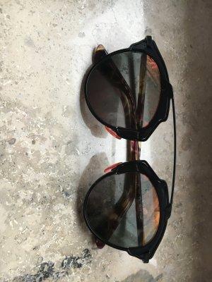 Dior So Real Sonnenbrille schwarz/rot