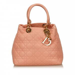 Dior Tote pink leather