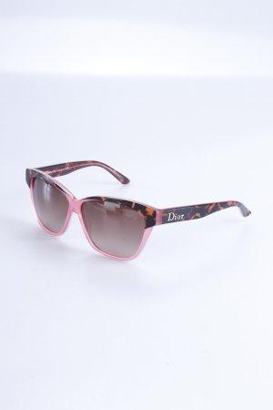 Dior Sonnebrille rosa Leoprint