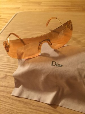 Dior Lunettes retro orange