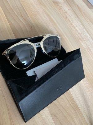 Dior Occhiale da sole rotondo argento