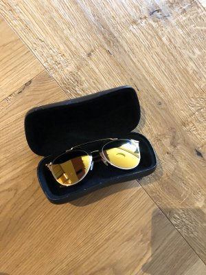 Dior Bril goud-braambesrood