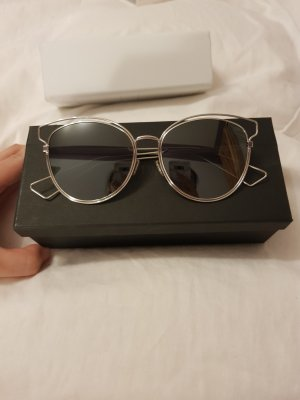 Dior Glasses white-silver-colored