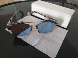 Dior Occhiale bianco sporco-azzurro