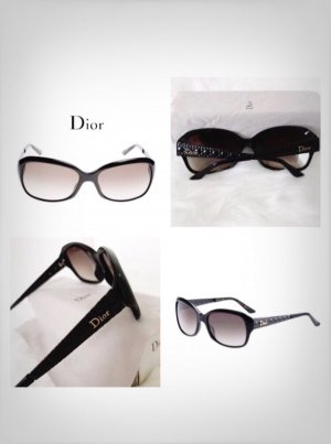 Dior Bril zwart