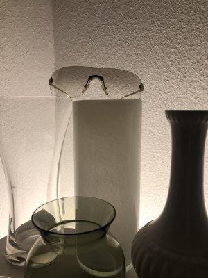 Christian Dior Occhiale stile retro bianco