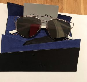 Christian Dior Bril zilver