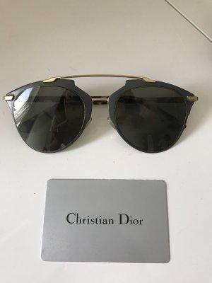 Dior Occhiale da pilota grigio scuro-antracite