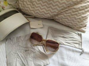 Dior Sonnenbrille - Beige Braun - wie neu