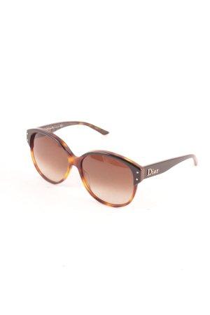 Dior Sonnenbrille braun Street-Fashion-Look